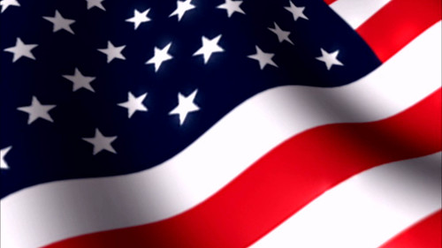 American Flag 1 Looping Animation