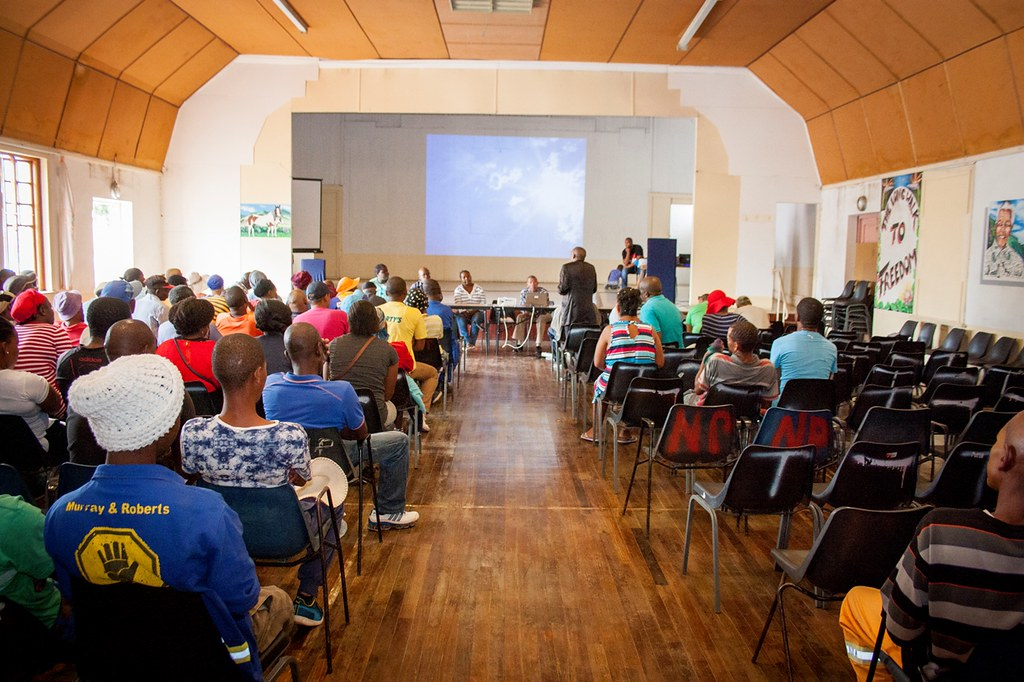 Noupoort Community Trust AGM, South Africa