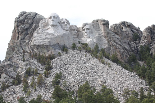 I went to Mount Rushmore