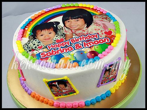 Birthday Cake 50pcs Personalised Choc Bar