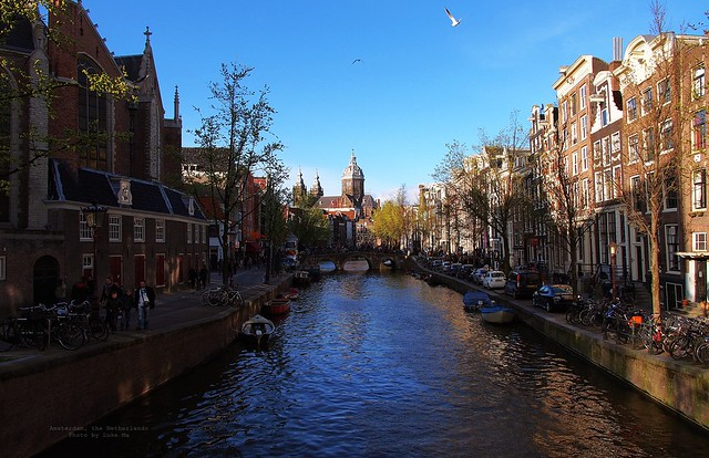 the capital, Amsterdam & Waag, the Netherlands