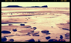 rhossilli beach, the gower, wales