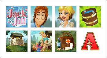 free Rhyming Reels - Jack and Jill slot game symbols