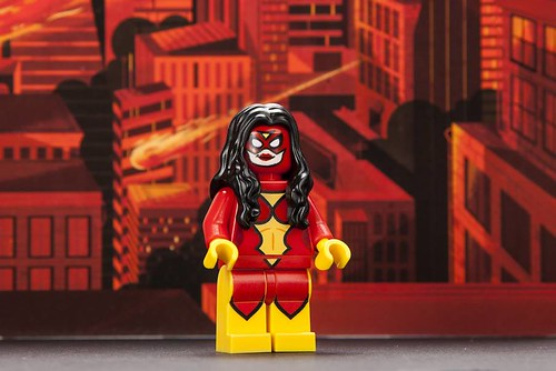 San Diego Comic Con 2013 LEGO Exclusive Minifigure - Spider-Woman