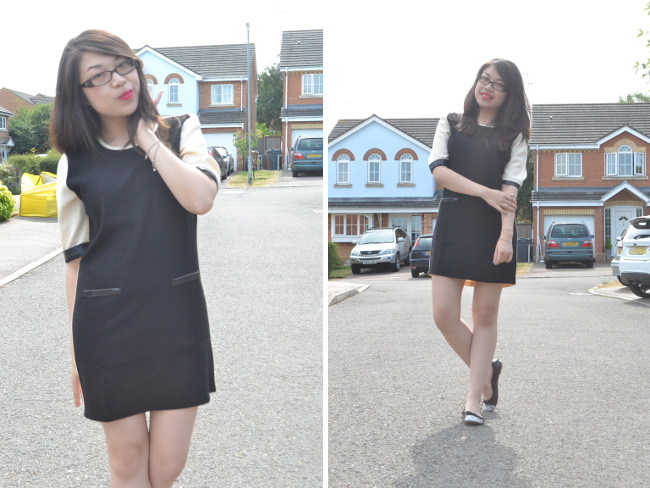 Daisybutter - UK Style and Fashion Blog: monochrome trend, ootd