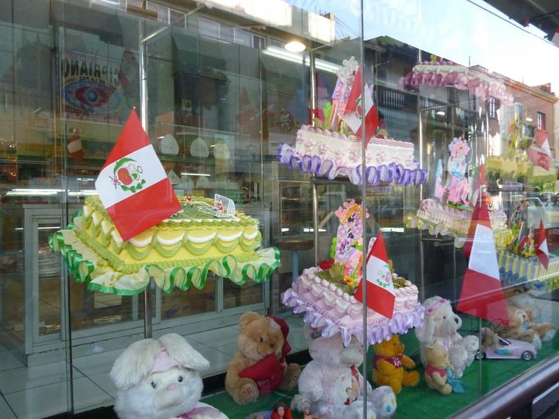 Extravagant cakes in Arequipa