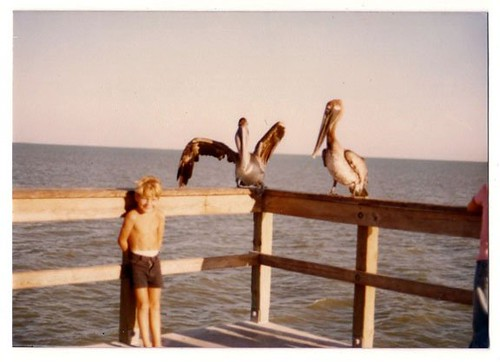 Fort Myers Beach Pier - Circa 1979-1980