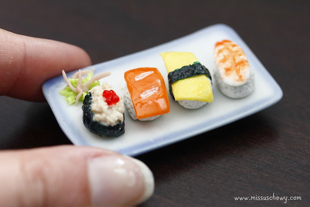 how to make sushi out of paper