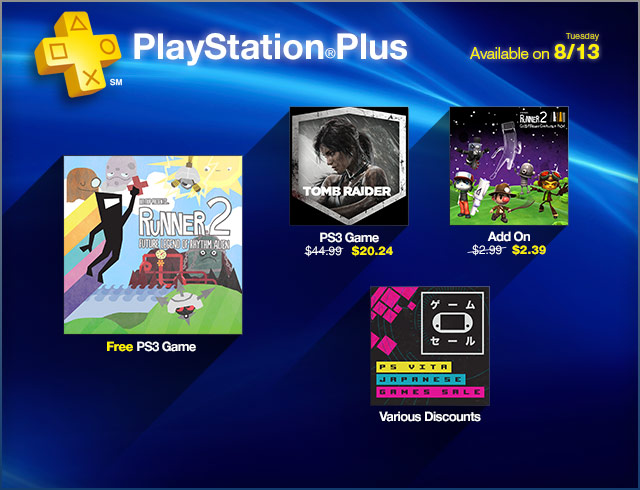 PlayStation Store Update 8-13-2013