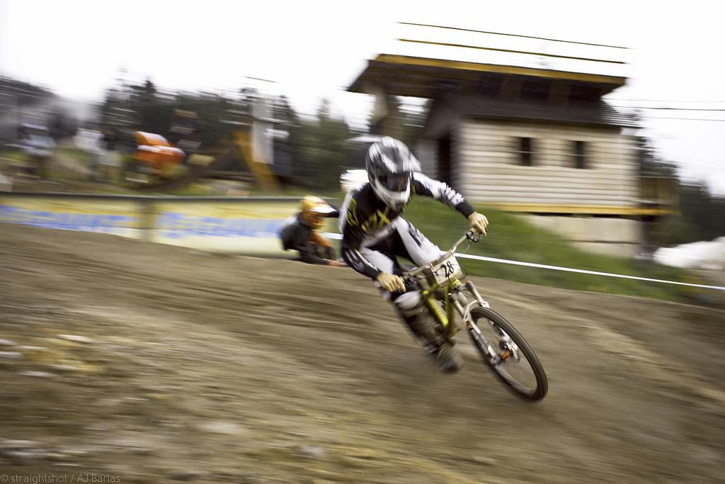 Ruffin Crankworx slalom speed blur