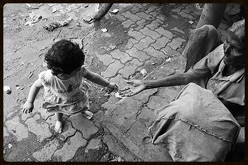 Charity ,, Nerjis Asif Shair 1 Year Old ,, Umbrella Lady Of Bandra Reclamation by firoze shakir photographerno1