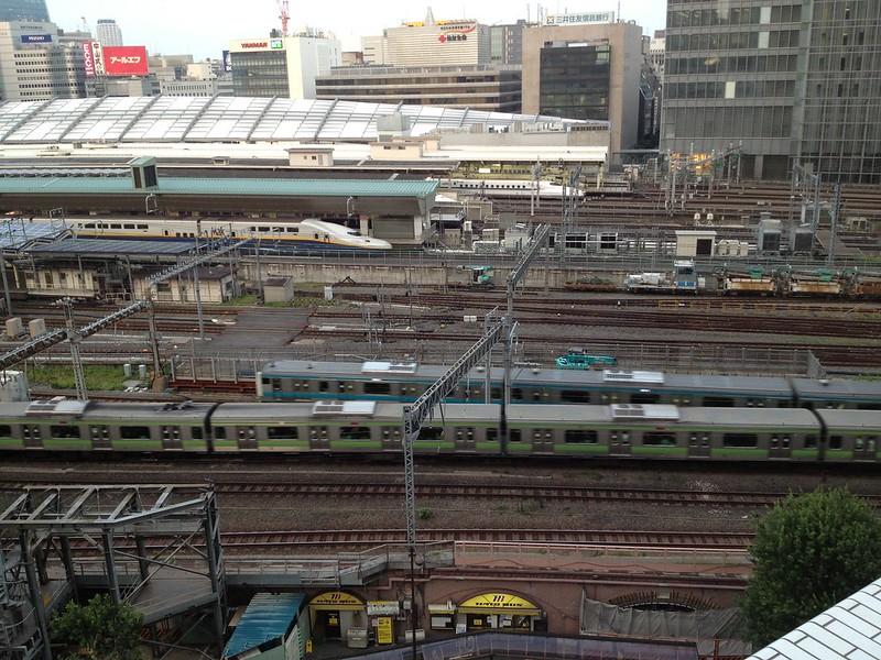KITTEから見る東京駅構内 by haruhiko_iyota