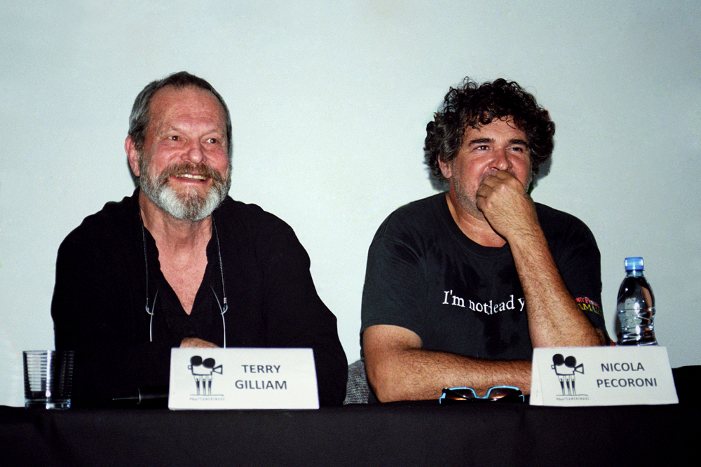 Terry Gilliam and Nicola Pecoroni