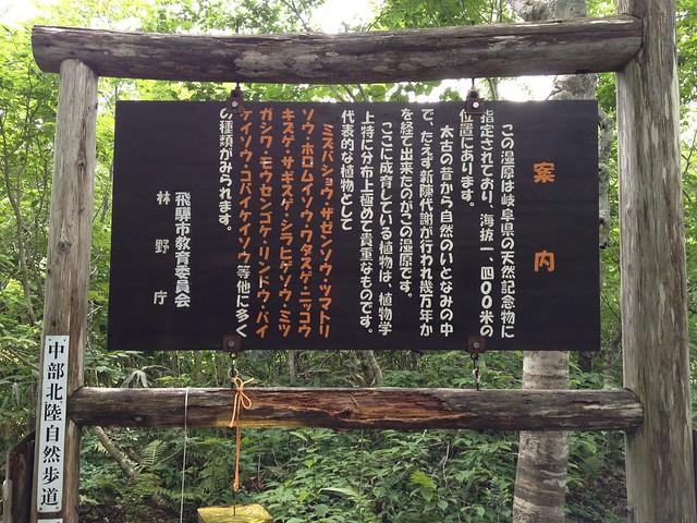 籾糠山 カラ谷分岐