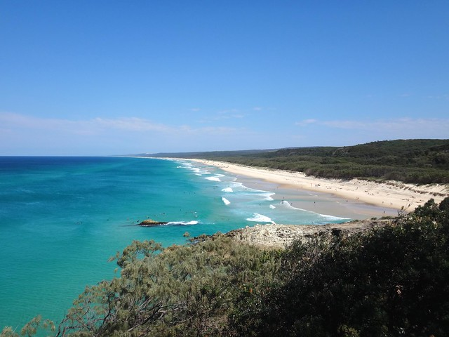 Main Beach - North Stradbroke Island