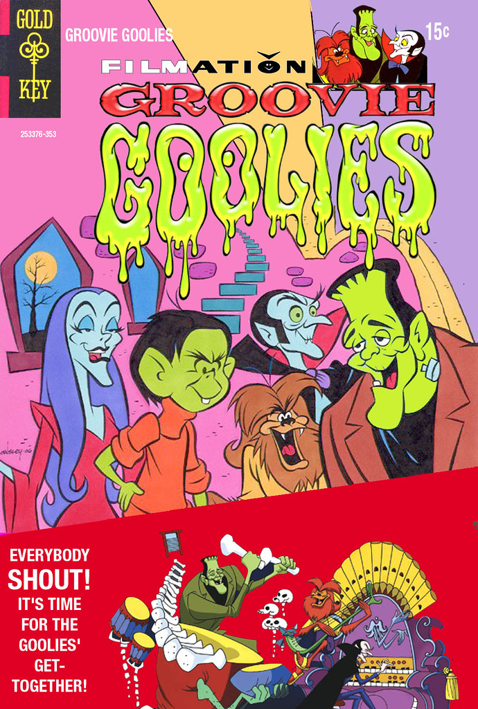 GROOVIE GOOLIES COMIC COVER