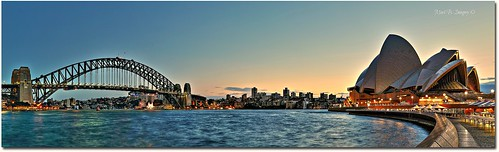 longexposure bridge panorama color colour sunrise canon geotagged photography flickr harbour sydney australia wideangle circularquay panoramic pylon nsw therocks sydneyharbour sydneyoperahouse sydneyharbourbridge ampitheatre