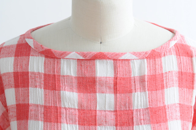 gingham picnic top