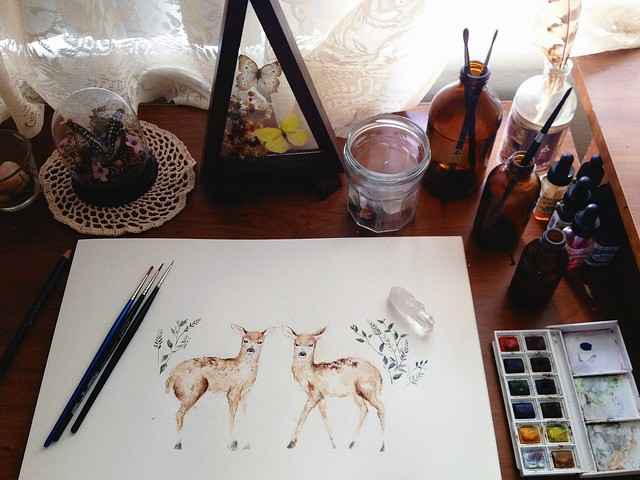 fawn work in progress