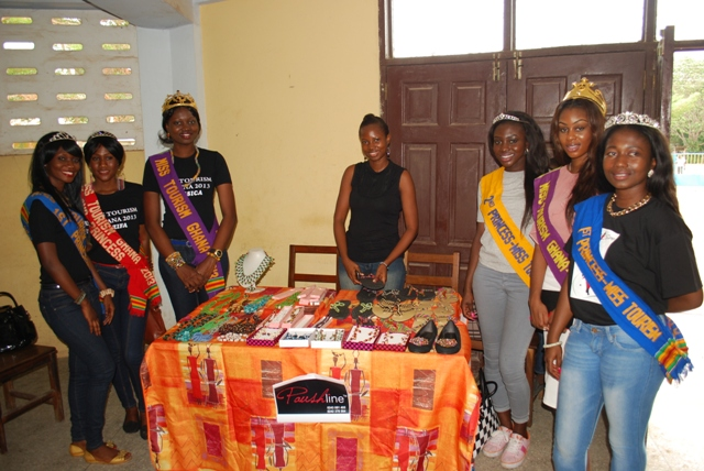 Miss Tourism Ghana Jessica Celebrates UN Peace Day / World Peace Day