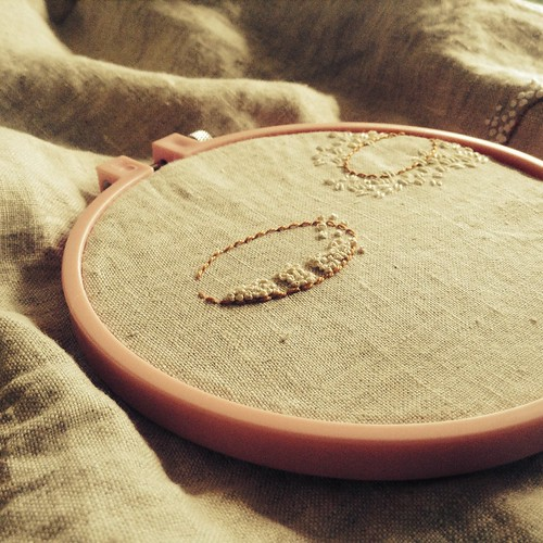Daily Embroidery--Ovals