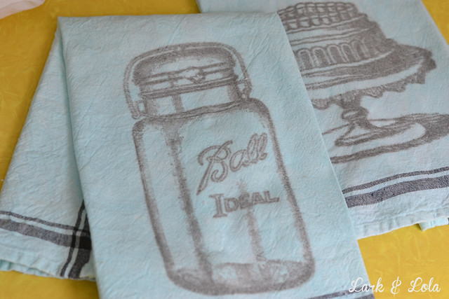Ball jar transfer towel