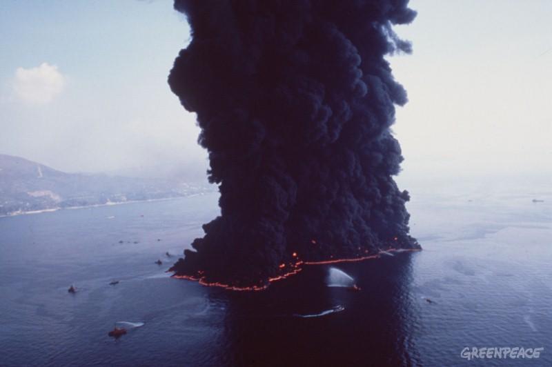 oil spill Italy