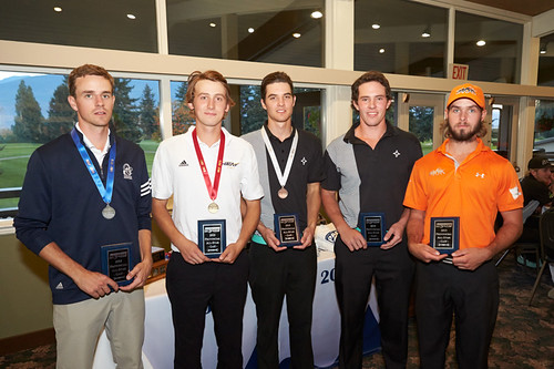 2013 PACWEST GOLF INDIVIDUAL LEADERS (BRENT POUND) (tree frog imaging)