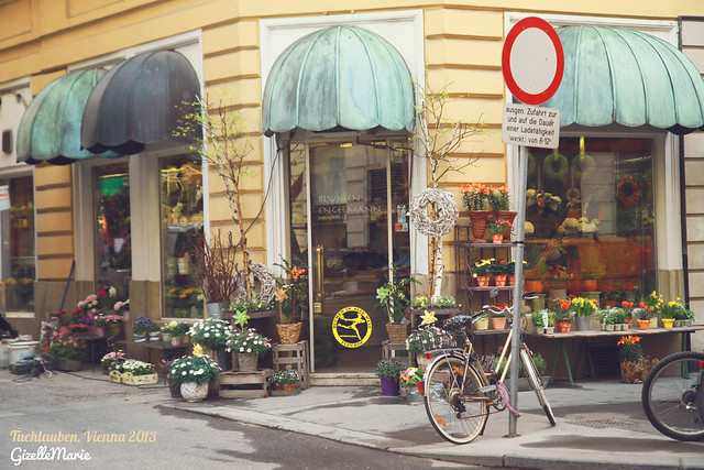 Cheap City Breaks in Vienna, flower corner