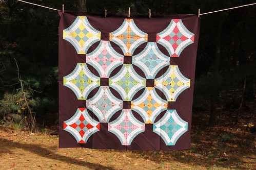 Urban Nine Patch Quilt Top