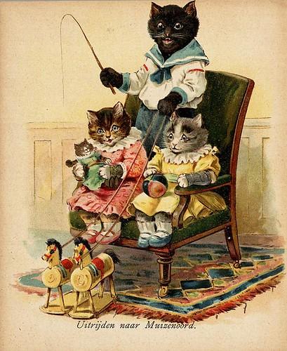 012- De drie katjes -1905-© Royal Library - Biblioteca Nacional de los Países Bajos