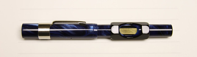Gate City Pen - READYFILL Claire de Lune Fountain Pen - Broad @RichardsPens Filler