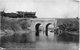 Pennsy Bridge over Deep River