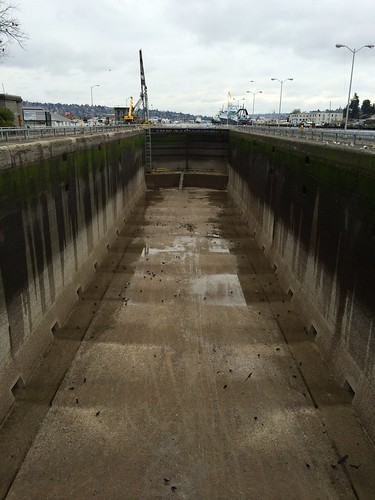 The walls that hold Lake Union back