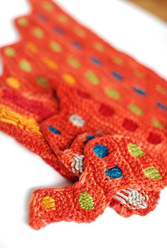 Pigment shawl