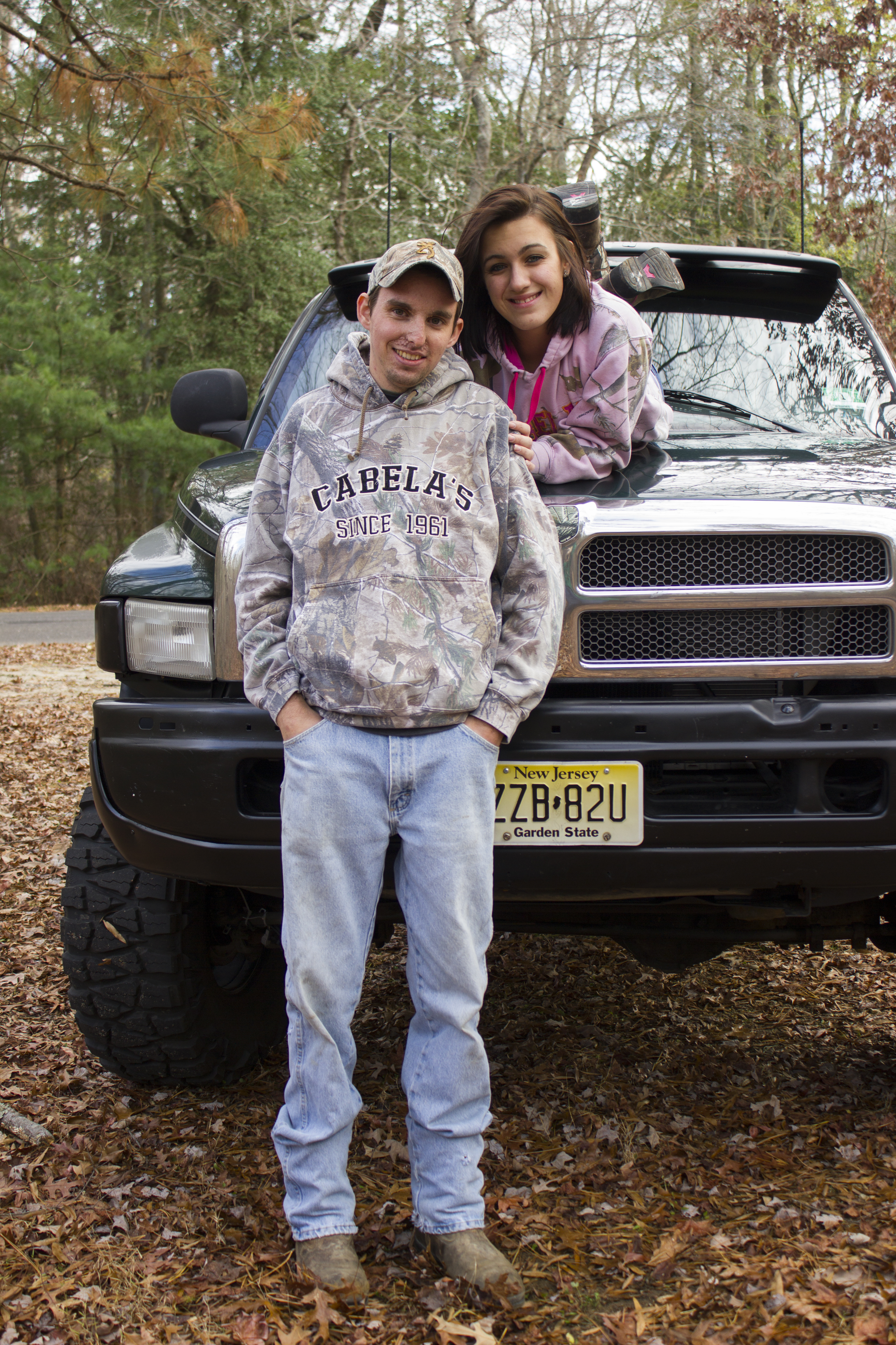 Country Couple Photography With Truck CoupleCountry
