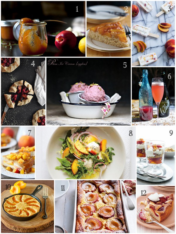12 Stonefruit Recipes