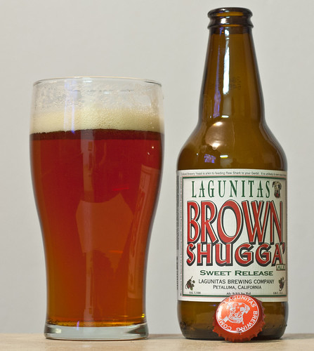 December 7 - Lagunitas Brown Shugga Sweet Release by Cody La Bière