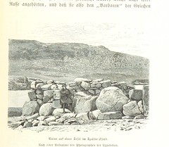 Image taken from page 383 of 'Grönland. Seine Eiswüsten im Innern und seine Ostküste. Schilderung der zweiten Dickson'schen Expedition ausgeführt im Jahre 1883 ... Mit ... Abbildungen und ... Karten'