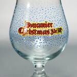 ベルギービール大好き!!【ブーカニア・クリスマス・エールの専用グラス】(管理人所有 )