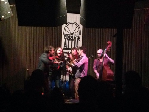 The Packway Handle Band, Eddie's Attic, Decatur, GA 12/7/2013