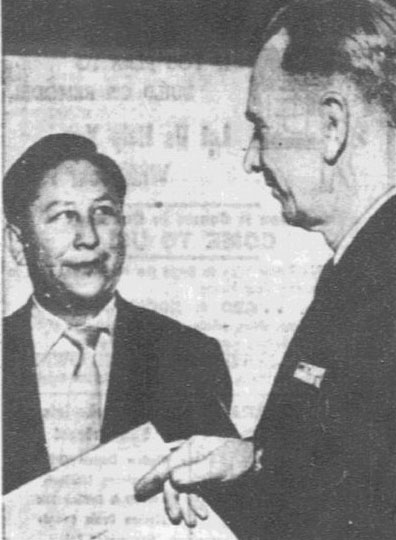 William Yernipcut and Dayton Smith, Dallas News Staff Photo