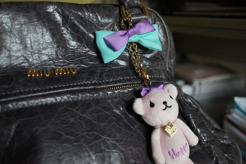 Samantha Thavasa Bear Bag Charm