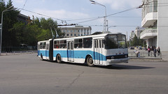 Pyongyang Trolly Buses