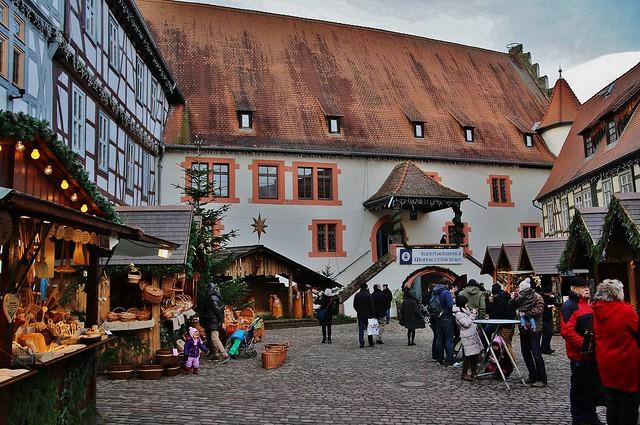 Christmas market in Michelstadt