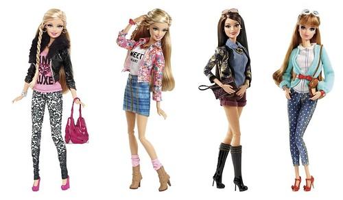 Fasc Nio Cor De Rosa Barbie Glam Luxe Style 2014