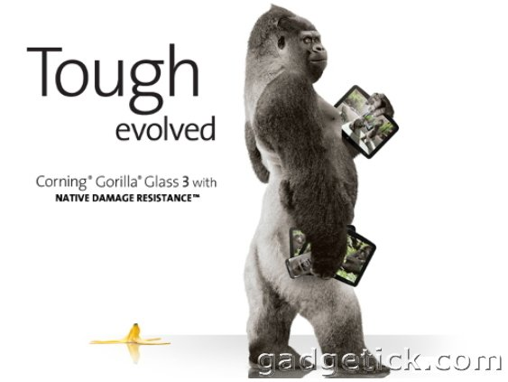 3D Gorilla Glass
