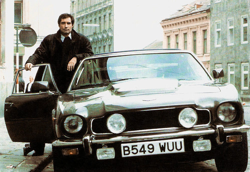 Timothy Dalton in The Living Daylights