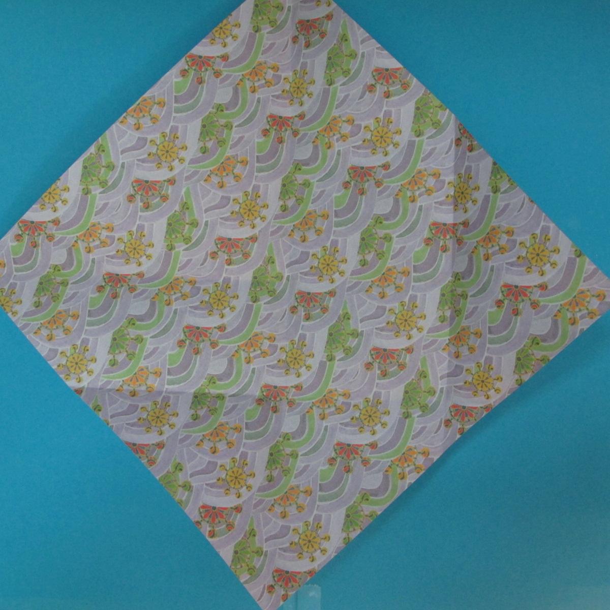 สอนวิธีพับกระดาษเป็นช้าง (แบบของ Fumiaki Kawahata) 009