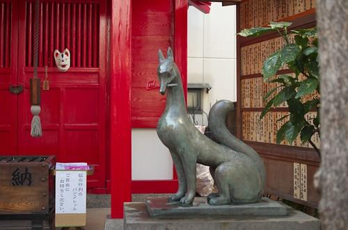 装束稲荷神社 狛狐
